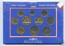 MONNAIE DE PARIS COFFRET BU BRILLANT UNIVERSEL ABEILLE 1999