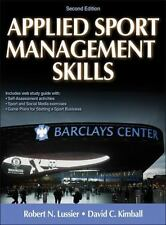 Applied Sport Management Skills Second Edition by Robert Lussier, David Kimball