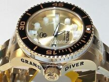 Invicta Women's 19823 Grand Diver Gen II Gold Tone Stainless Steel Case Bracelet