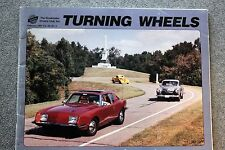 1997 STUDEBAKER DRIVERS CLUB Turning Wheels PUBLICATION Car AUTO South Bend IND