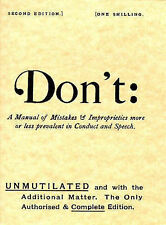 Don't,