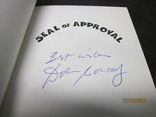 SEAL OF APPROVAL DON CONROY SIGNED 1999 PAPERBACK