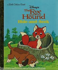 THE FOX AND THE HOUND Little Golden Book WALT DISNEY Brand New TOD Copper LOST
