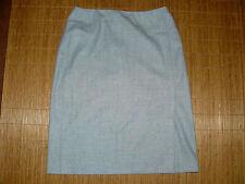 MARC AUREL Business Bleistift Rock grau Damen 36 Wolle Schlitz elegant Knie  #22