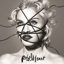 Rebel Heart [Deluxe] [PA] by Madonna (CD, 2014, Interscope (USA))