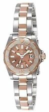 Invicta Women's 7067 Signature Quartz 3 Hand Rose Gold Dial Watch