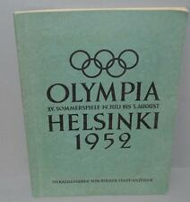 Old Chronicle To The Helsinki Olympic Games 1952 Complete with all card pictures