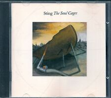 CD ALBUM 9 TITRES--STING--THE SOUL CAGES--1991
