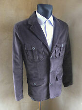 Mens Vintage Corduroy Hunting Shooting jacket M 44 blazer casual slim formal fit