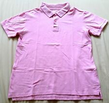 ♥ Tweed River Pink Polo T-Shirt S