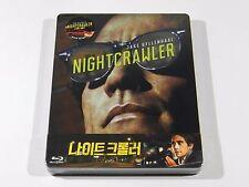 Nightcrawler Blu-ray Steelbook [Korea] Novamedia #120/500 OOP 1/4 SLIP VERSION