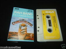 THE RAH BAND THE CRUNCH AND BEYOND AUSTRALIAN CASSETTE TAPE