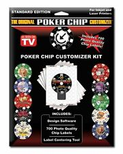 The Original Poker Chip Customizer Software Personalize Chips Yourself for Less