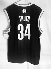 Adidas NBA Jersey Nets Paul Pierce Black Nickname sz XL