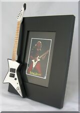 JUDAS PRIEST Miniature Guitar Frame Hamer Glenn Tipton