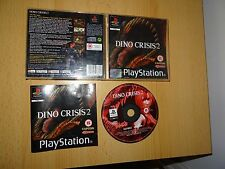 PS1 Playstation 1 PAL juego dino crisis 2 Free UK Post