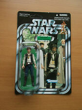 STAR WARS: VINTAGE COLLECTION, HAN SOLO, (VC42), UN-PUNCHED HOLE, 2010!!!