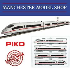 "Piko HO 1:87 ICE 3 4-piece train set, DB AG ""DCC SOUND"" NEW UNBOXED SRP £250.00!"