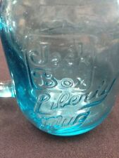 Vintage Aqua Blue Jack In The Box 1976 Liberty Mugs TakeLife A Little Easier2Qty