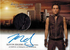 Mortal Instruments City of Bones Autograph Wardrobe Card AW-KZI Kevin Zegers V1