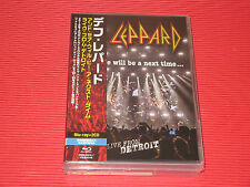 DEF LEPPARD and there will be a next time   JAPAN BLU-RAY + 2 CD SET
