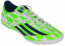 NEW MEN'S ADIDAS F10 INDOOR FUTSAL SOCCER SHOES US 10  UK 9.5  #M18310