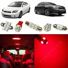 7x Red LED lights interior package kit for 2008-2014 Scion tC ST1R