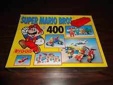 Super Mario Bros. Byggis Blocks 400 Piece Set New Sealed Nintendo 1992