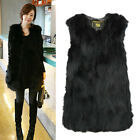New Arrival Winter Real Farm Fox Fur Vest Gilet Long Fox Fur Jacket Grace Women
