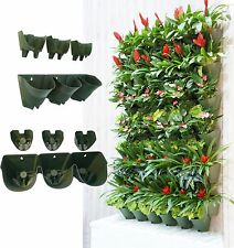 Worth Self Watering Vertical Wall Balcony Garden Hanging Planter Herbs FlowerPot