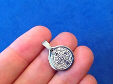 "St BENEDICT Medal Protection Exorcism's Saint Medal Stainless Steel 1/2"" x 7/8"""