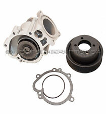 Engine Water Pump + GASKET + PULLEY for BMW E46 M3 2001-2006 11517838118 SET 3