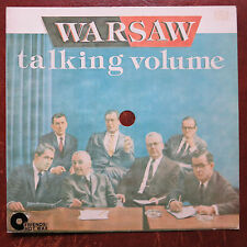 "WARSAW ‎– Talking Volume 8"" Flexi Friends Rec. ‎FR 007  Vancouver Punk from 1980"