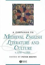 Blackwell Companions to Literature and Culture: A Companion to Medieval...