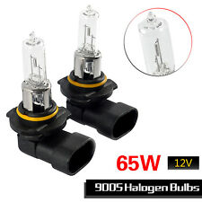 2xSuper Bright 9005 HB3 65W  Fog Halo Halogen Light Bulb Auto Head Light Lamp12V