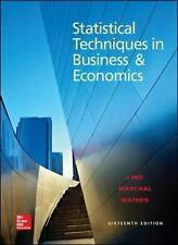 McGraw-Hill: Statistical Techniques In Business And Economics