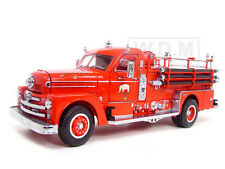 1958 SEAGRAVE 750 FIRE ENGINE TRUCK RED W/ACCESSORIES 1:24 ROAD SIGNATURE 20168