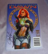 2014 DAWN SKETCHBOOK~SIGNED BY JOSEPH MICHAEL LINSNER~CRY FOR~BATMAN/VAMPIRELLA~