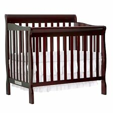 NEW & SEALED! Dream On Me 4 in 1 Aden Convertible Mini Crib, Espresso