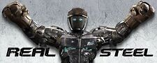 "Real Steel Movie Silk Fabric Poster 24""x38.5"""