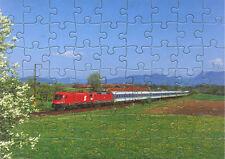 Eisenbahn Kinder-Puzzle  ·  Elektro-Lokomotiven 1116 + 120 ÖBB/DB · NEU/OVP