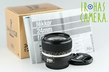 Nikon Nikkor 24mm F/2.8 Ais Lens With Box #11209F2