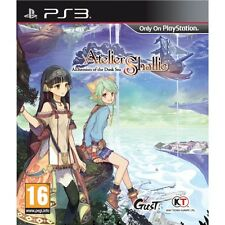 Atelier Shallie Alchemists of the Dusk Sea PS3 Game Brand New