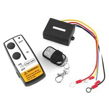 12V Black Wireless  50FT Remote Control Kit for Truck Jeep ATV Winch Tuff remote