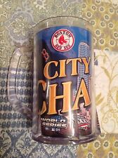 BOSTON BEER MUG CITY OF CHAMPIONS RED SOX - NEW ENGLAND PATRIOTS PLASTIC CUP NEW