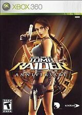Lara Croft: Tomb Raider Anniversary (Microsoft Xbox 360, 2007)