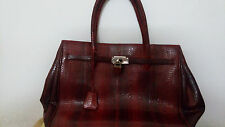 Birkin Ladies Bag made from snake skin (Cobra+Python mixed)