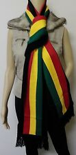 WINTER WARM KNIT SCARVES RASTA JAMAICAN JAMAICA PAN AFRICAN ETHIOPIA FLAG REGGAE