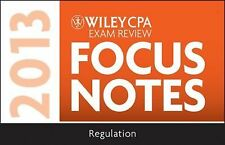 Wiley CPA Examination Review 2013 Focus Notes, Regulation-ExLibrary