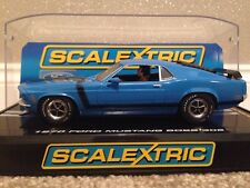 Scalextric Limited Edition Ford Mustang Boss 302 STREET AUTO CROMO TAG c2976